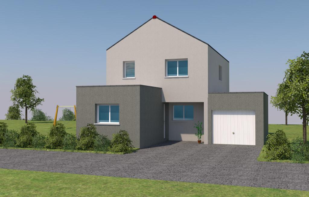 opportunit sur geveze votre maison partir de 185 300 euros jubault constructeur de. Black Bedroom Furniture Sets. Home Design Ideas
