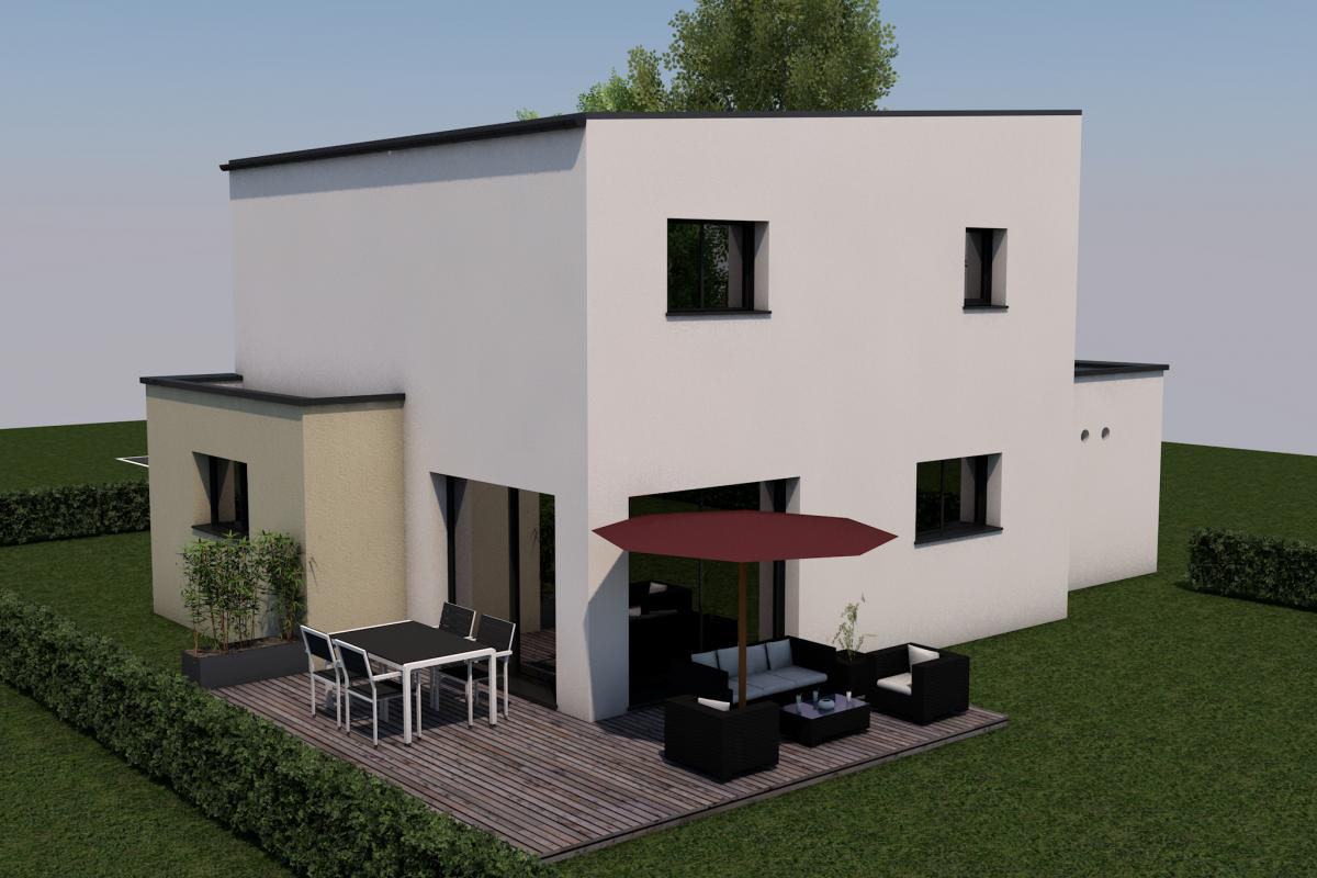 Maison contemporaine 4 Chambres Et Garage